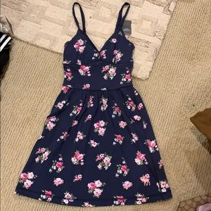 NWT Abercrombie Fitch Floral Prints Mini Dress